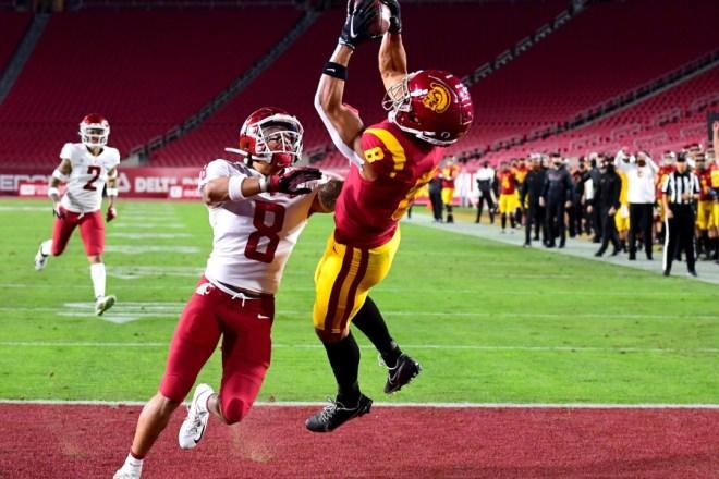 Patriots 2021 Draft Profile, WR Amon-Ra St. Brown, USC