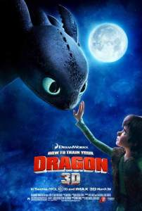 How to Train Your Dragon - English Poster