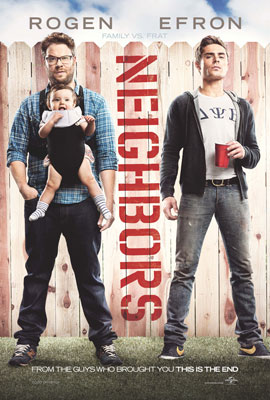 Bad Neighbours - Poster