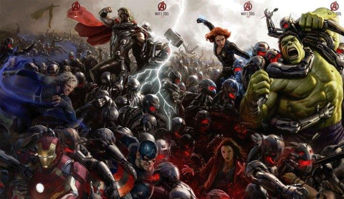 Marvel เผยโฉมคอนเซปต์ The Avengers : Age of Ultron เเละ Ant-Man