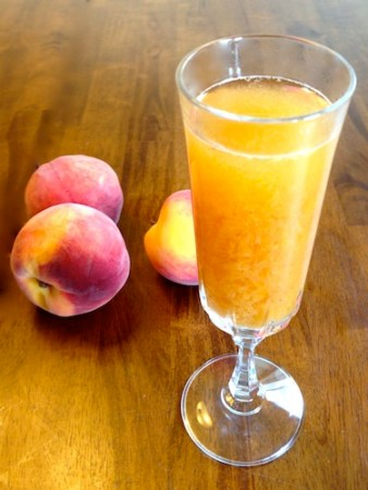 Bellini is this summer's patio drink at the historic Hobson Estate.