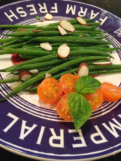 French Green Beans Almondine
