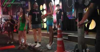 Pattaya, Walking Street – Night Walk Agogo Scenes
