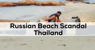 Russians caught having sex on Pattaya beach Banned from thailand