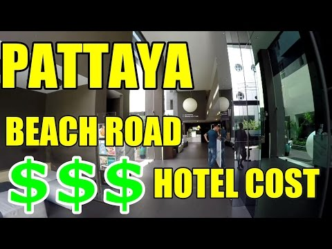 COST OF PATTAYA BEACH ROAD HOTEL V174