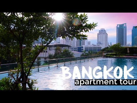 BANGKOK APARTMENT TOUR | Thailand Travel 2017
