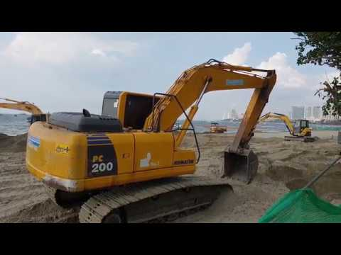 pattaya seaside boulevard renovation and fresh seaside