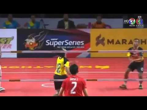 ISTAF Smartly-organized Series 2015 MALAYSIA VS THAILAND – FINAL (FULL)