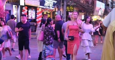 After Hour of darkness In Pattaya Strolling Avenue
