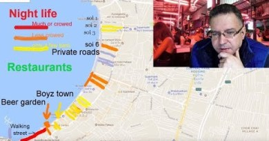 NIGHT LIFE MAP OF PATTAYA – Defined in detail