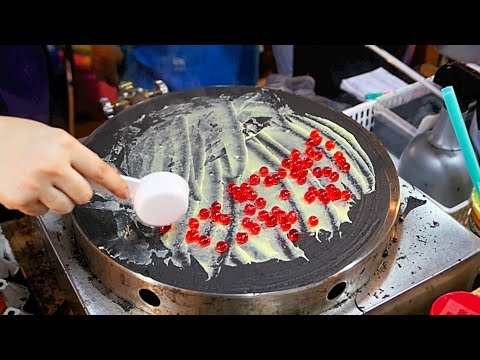 Thailand Avenue Meals – SHOCKING BLACK CREPE Bangkok Dessert