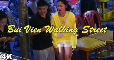 (4K) Bui Vien Strolling Road Saigon – Nightlife of Beautiful Vietnamese Ladies(Vlog #056)
