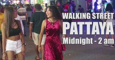 Strolling Aspect road Pattaya Nightlife