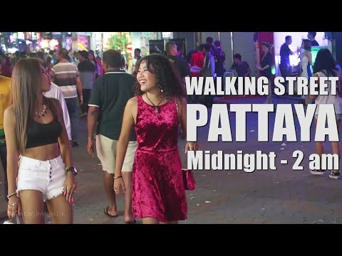 Strolling Aspect road Pattaya Nightlife