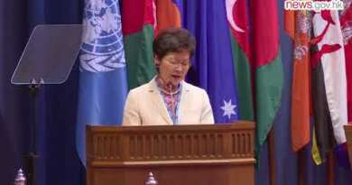 Carrie Lam visits Thailand (14.5.2018)
