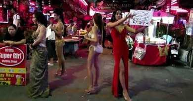 Pattaya Nightlife 2019 II Pattaya Clubs II Walking Avenue
