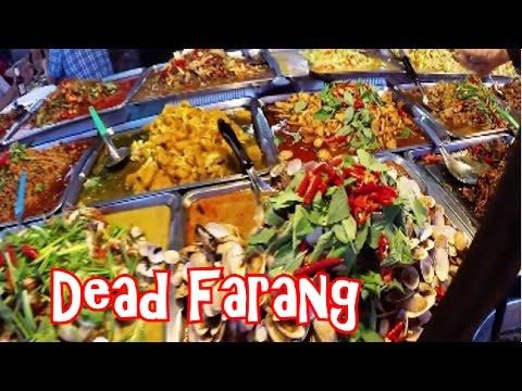 Yummy Thai Road Food at Thepprasit Night Market in Pattaya Thailand