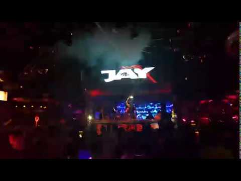 Thailand Pattaya Walking Aspect toll road Lucifer Disco and Nightclub *CRAZY PARTY*,  Improbable Club