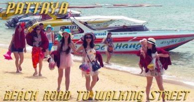 Pattaya Thailand – Seaside Highway to Strolling Boulevard
