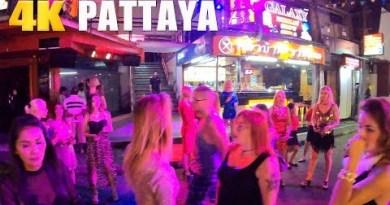 Finding Russian mark girls Pattaya Strolling Street at Evening  – Strolling Pattaya #06