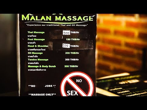 I Stumbled on the Most efficient Massage in Pattaya, Thailand