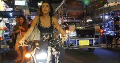 Pattaya strolling motorway nightlife 2019 Sept