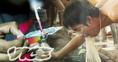 Thai Meth Epidemic and Vomit Rehab