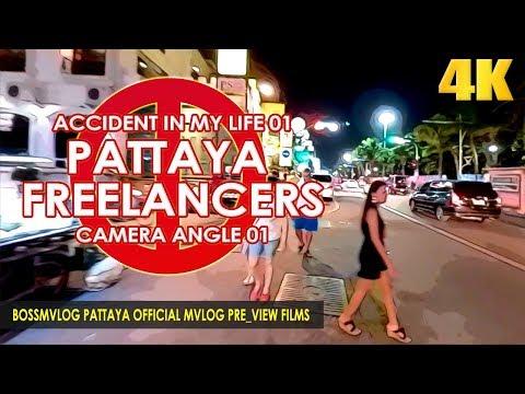 Documentary Freelancers on Strolling Avenue Pattaya and Pattaya Seaside Avenue Nightlife EP01