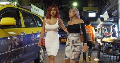 Pattaya Strolling Facet street evening scenes September 2019