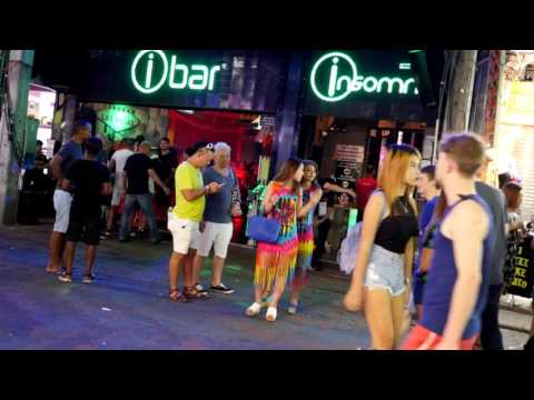 IBAR INSOMNIA NIGHT CLUB  WALKING STREET PATTAYA,THAILAND