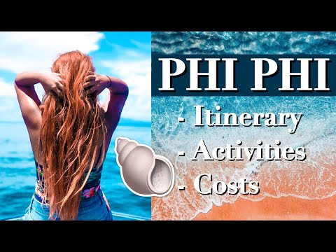 Things To Enact In Phi Phi Islands! Stagger Vlog And Thailand Manual