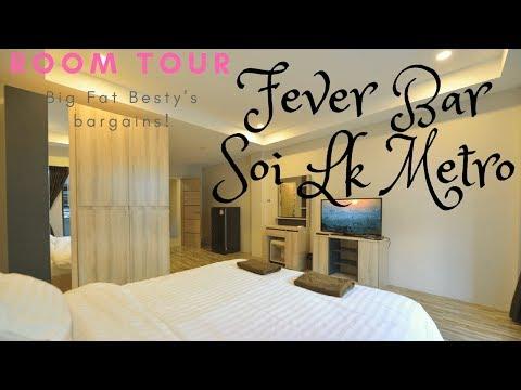 Room overview! BARGAIN Fever bar, soi lk metro, pattaya, Thailand