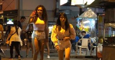 Romantic Night in Pattaya Walking Avenue 2019 Sep