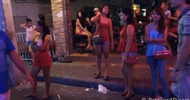Pattaya 2013 Strolling Avenue Nightlife, Section 2