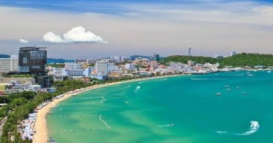 Jomtien sea slump Pattaya Thailand