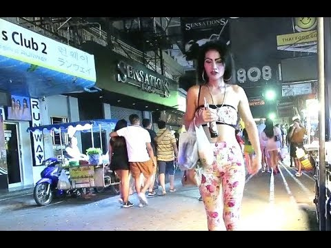 Freelancers of Walking Avenue Pattaya