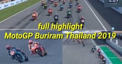 Motogp Buriram Thailand 2019 highlight speed MotoGP Thailand hasil MotoGP Buriram Thailand