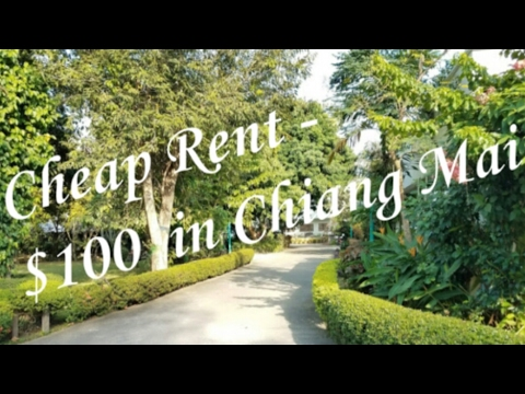 Low-cost Rent Below $100 – Low-cost Chiang Mai Residences PART 1 – Thrifty Residing Weblog