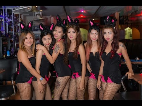 Pattaya Soi Intercourse Stir Round at Night, Horny Girls Nightlife Compilation