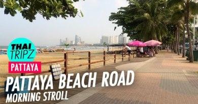 Pattaya Sea run Road – Morning stroll