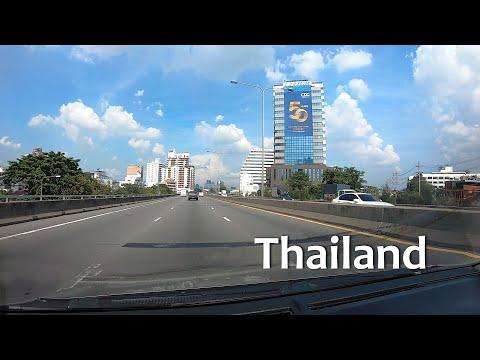 [4K] Driving Hua Hin – Bangkok – Pattaya – Thailand