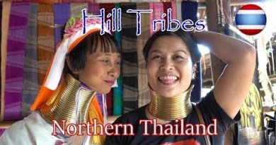 Hill Tribes Northern Thailand Karen Long Neck Village Chiang Rai