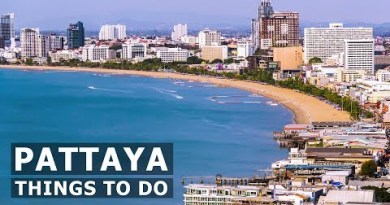 Pattaya City & Sights Thailand 2019 (4K)