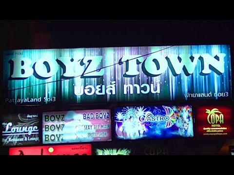 Boys metropolis Pattaya Thailand