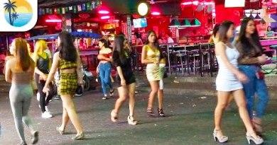 Strolling Road (4K) Pattaya Thailand
