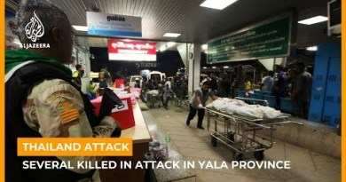 Several killed in assault in southern Thailand's Yala province