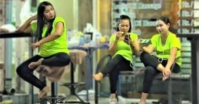 Pattaya Rubdown Girls on Accountability | Aziatka reside – Vlog 133