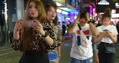 after center of the night pattaya walking avenue