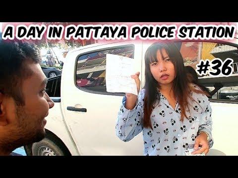 Pattaya Thailand Police Discipline With Thai Lady friend | Pattaya Thailand 2019 | Ketan Singh Vlogs #36