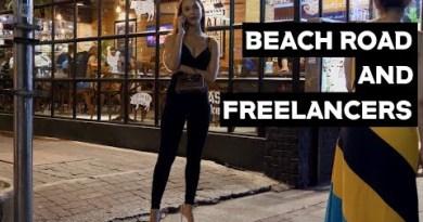 (4K) Freelancers on Seaside Street, Pattaya